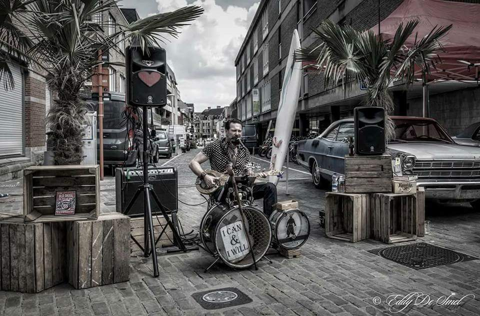 Belgian Blues Artist DC Snakebuster Signs with Melodic Revolution Records