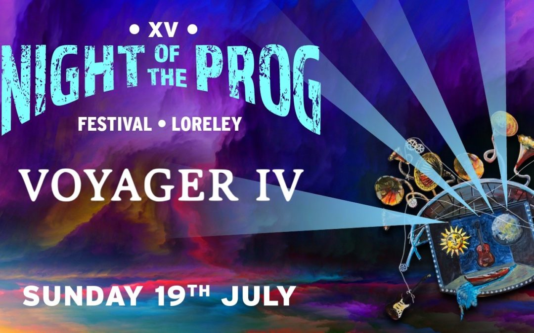 VOYAGER IV confirmed for Night of the Prog Festival